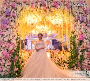 Kuala Lumpur Wedding Event Deco Wedding Planner Kiong Art Wedding Event 吉隆坡一站式婚礼策划布置 C01-001
