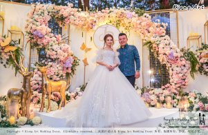 Kuala Lumpur Wedding Event Deco Wedding Planner Kiong Art Wedding Event 吉隆坡一站式婚礼策划布置 C01-011