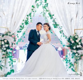 Kuala Lumpur Wedding Event Deco Wedding Planner Kiong Art Wedding Event 吉隆坡一站式婚礼策划布置 Klang Commercial Convention Centre KCCC 巴生皇城商务会展中心 E01-020