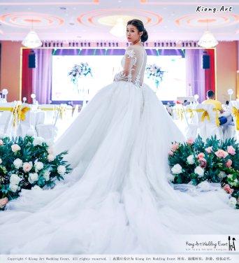 Kuala Lumpur Wedding Event Deco Wedding Planner Kiong Art Wedding Event 吉隆坡一站式婚礼策划布置 Klang Commercial Convention Centre KCCC 巴生皇城商务会展中心 F01-005