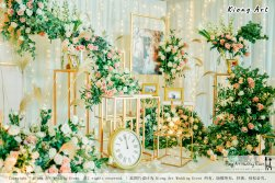 Kuala Lumpur Wedding Event Deco Wedding Planner Kiong Art Wedding Event 吉隆坡一站式婚礼策划布置 Klang Commercial Convention Centre KCCC 巴生皇城商务会展中心 A01-011