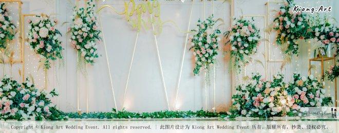Kuala Lumpur Wedding Event Deco Wedding Planner Kiong Art Wedding Event 吉隆坡一站式婚礼策划布置 Klang Commercial Convention Centre KCCC 巴生皇城商务会展中心 A01-017