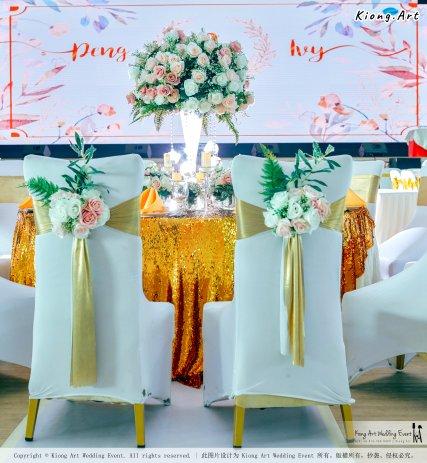 Kuala Lumpur Wedding Event Deco Wedding Planner Kiong Art Wedding Event 吉隆坡一站式婚礼策划布置 Klang Commercial Convention Centre KCCC 巴生皇城商务会展中心 A01-001