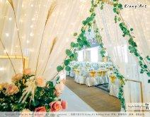 Kuala Lumpur Wedding Event Deco Wedding Planner Kiong Art Wedding Event 吉隆坡一站式婚礼策划布置 Klang Commercial Convention Centre KCCC 巴生皇城商务会展中心 B01-003