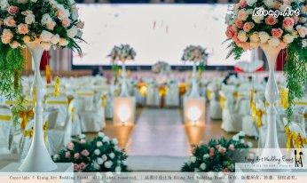 Kuala Lumpur Wedding Event Deco Wedding Planner Kiong Art Wedding Event 吉隆坡一站式婚礼策划布置 Klang Commercial Convention Centre KCCC 巴生皇城商务会展中心 B01-005