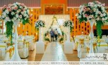 Kuala Lumpur Wedding Event Deco Wedding Planner Kiong Art Wedding Event 吉隆坡一站式婚礼策划布置 Klang Commercial Convention Centre KCCC 巴生皇城商务会展中心 B01-007