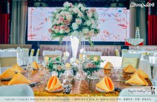 Kuala Lumpur Wedding Event Deco Wedding Planner Kiong Art Wedding Event 吉隆坡一站式婚礼策划布置 Klang Commercial Convention Centre KCCC 巴生皇城商务会展中心 A01-002