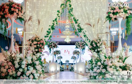 Kuala Lumpur Wedding Event Deco Wedding Planner Kiong Art Wedding Event 吉隆坡一站式婚礼策划布置 Klang Commercial Convention Centre KCCC 巴生皇城商务会展中心 C01-003