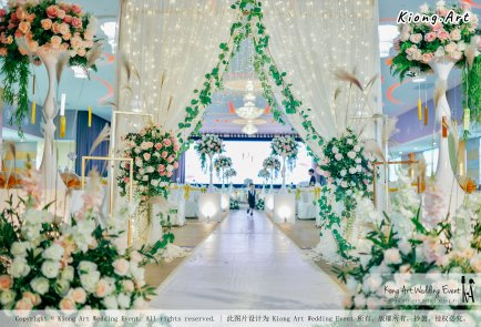 Kuala Lumpur Wedding Event Deco Wedding Planner Kiong Art Wedding Event 吉隆坡一站式婚礼策划布置 Klang Commercial Convention Centre KCCC 巴生皇城商务会展中心 C01-013