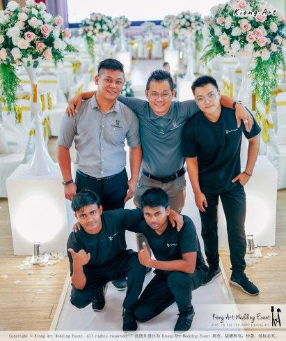 Kuala Lumpur Wedding Event Deco Wedding Planner Kiong Art Wedding Event 吉隆坡一站式婚礼策划布置 Klang Commercial Convention Centre KCCC 巴生皇城商务会展中心 D01-003