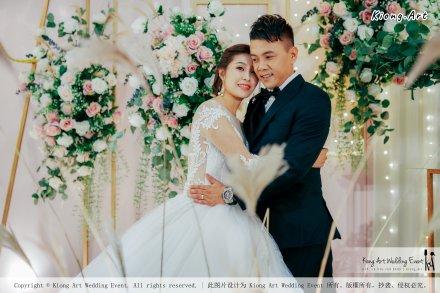 Kuala Lumpur Wedding Event Deco Wedding Planner Kiong Art Wedding Event 吉隆坡一站式婚礼策划布置 Klang Commercial Convention Centre KCCC 巴生皇城商务会展中心 E01-003