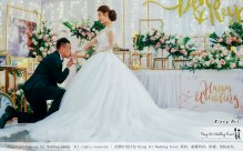Kuala Lumpur Wedding Event Deco Wedding Planner Kiong Art Wedding Event 吉隆坡一站式婚礼策划布置 Klang Commercial Convention Centre KCCC 巴生皇城商务会展中心 E01-009