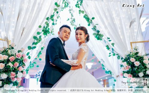 Kuala Lumpur Wedding Event Deco Wedding Planner Kiong Art Wedding Event 吉隆坡一站式婚礼策划布置 Klang Commercial Convention Centre KCCC 巴生皇城商务会展中心 E01-017