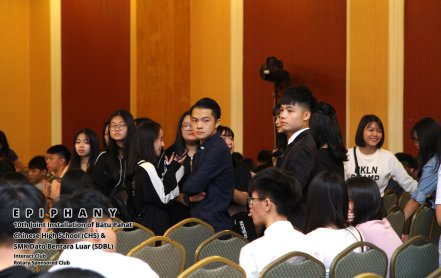 10th Joint Installation of Batu Pahat Chinese High School CHS and SMK Dato Bentara Luar SDBL - EPIPHANY - Interact Club - Rotary Sponsored Club The Katerina Hotel Batu Pahat A15