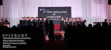 10th Joint Installation of Batu Pahat Chinese High School CHS and SMK Dato Bentara Luar SDBL - EPIPHANY - Interact Club - Rotary Sponsored Club The Katerina Hotel Batu Pahat B20