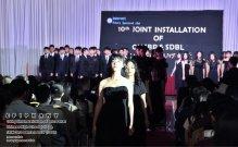10th Joint Installation of Batu Pahat Chinese High School CHS and SMK Dato Bentara Luar SDBL - EPIPHANY - Interact Club - Rotary Sponsored Club The Katerina Hotel Batu Pahat C01