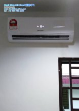 Cool Man Air-Cond Batu Pahat Air Cond Service Air-Cond Installation Air Conditioning 酷酷冷气 冷气维修服务 冷器安装 峇株巴辖 冷气服务 A04