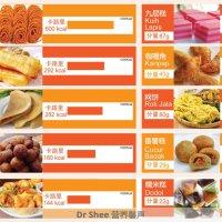 《Dr.Shee 营养知识》 马来西亚的糕点卡路里及要如何消耗!