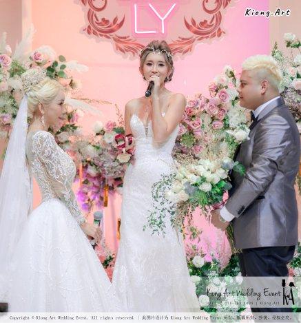 黑哥与林云姐 婚礼 Khen Chua and Leng Yein Wedding at KLCC Convention Centre Declaration of Love 爱的宣言 马来西亚 全民姐姐 Kuala Lumpur Wedding Event Deco Wedding Kiong Art Wedding Event 吉隆坡一站式婚礼策划布置 E01-034