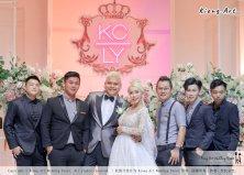 黑哥与林云姐 婚礼 Khen Chua and Leng Yein Wedding at KLCC Convention Centre Declaration of Love 爱的宣言 马来西亚 全民姐姐 Kuala Lumpur Wedding Event Deco Wedding Kiong Art Wedding Event 吉隆坡一站式婚礼策划布置 F01-013