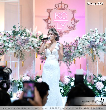 黑哥与林云姐 婚礼 Khen Chua and Leng Yein Wedding at KLCC Convention Centre Declaration of Love 爱的宣言 马来西亚 全民姐姐 Kuala Lumpur Wedding Event Deco Wedding Kiong Art Wedding Event 吉隆坡一站式婚礼策划布置 D01-009