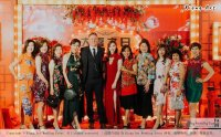 Kuala Lumpur Wedding Event Deco Wedding Planner Kiong Art Wedding Event 吉隆坡一站式婚礼策划布置 Klang WK Banquet Hall Oriental Traditional Culture Wedding 东方传统文化婚礼 A01-009