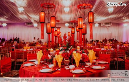 Kuala Lumpur Wedding Event Deco Wedding Planner Kiong Art Wedding Event 吉隆坡一站式婚礼策划布置 Klang WK Banquet Hall Oriental Traditional Culture Wedding 东方传统文化婚礼 A01-018