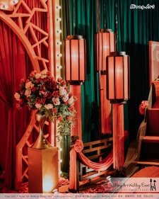 Kuala Lumpur Wedding Event Deco Wedding Planner Kiong Art Wedding Event 吉隆坡一站式婚礼策划布置 Klang WK Banquet Hall Oriental Traditional Culture Wedding 东方传统文化婚礼 B01-018