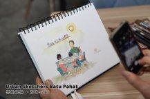 Urban Sketchers Batu Pahat 峇株吧辖 都市写生 B001