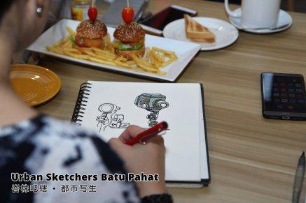 Urban Sketchers Batu Pahat 峇株吧辖 都市写生 B005