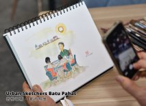 Urban Sketchers Batu Pahat 峇株吧辖 都市写生 B016