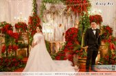 Kuala Lumpur Wedding Event Deco Wedding Planner Kiong Art Wedding Event 吉隆坡一站式婚礼策划布置 Grand Sea View Restaurant European and American Pastoral Style 欧美田园风格 A01-005