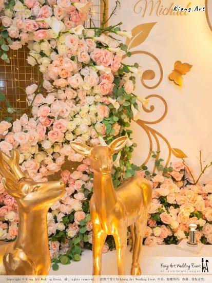 Malaysia Selangor Klang Kuala Lumpur Wedding Event Deco Wedding Planner Kiong Art Wedding Event 马来西亚 雪兰莪 巴生 雪隆区 吉隆坡一站式婚礼策划布置 A Gargen Story 温馨花园故事 A01-042