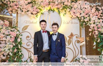 Malaysia Selangor Klang Kuala Lumpur Wedding Event Deco Wedding Planner Kiong Art Wedding Event 马来西亚 雪兰莪 巴生 雪隆区 吉隆坡一站式婚礼策划布置 A Gargen Story 温馨花园故事 B01-008