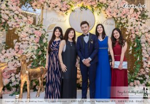 Malaysia Selangor Klang Kuala Lumpur Wedding Event Deco Wedding Planner Kiong Art Wedding Event 马来西亚 雪兰莪 巴生 雪隆区 吉隆坡一站式婚礼策划布置 A Gargen Story 温馨花园故事 B01-011