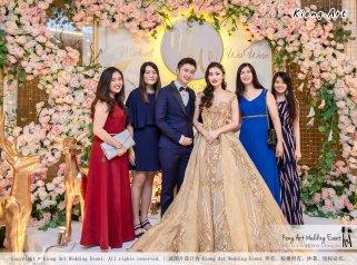 Malaysia Selangor Klang Kuala Lumpur Wedding Event Deco Wedding Planner Kiong Art Wedding Event 马来西亚 雪兰莪 巴生 雪隆区 吉隆坡一站式婚礼策划布置 A Gargen Story 温馨花园故事 C01-012