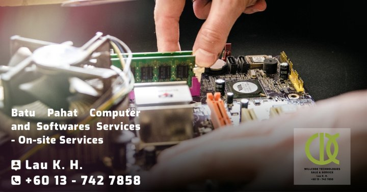 Batu Pahat Computer Services Computer Sales Softwares Services On-site Services Willcode Technologies Sale and Service Logo A00