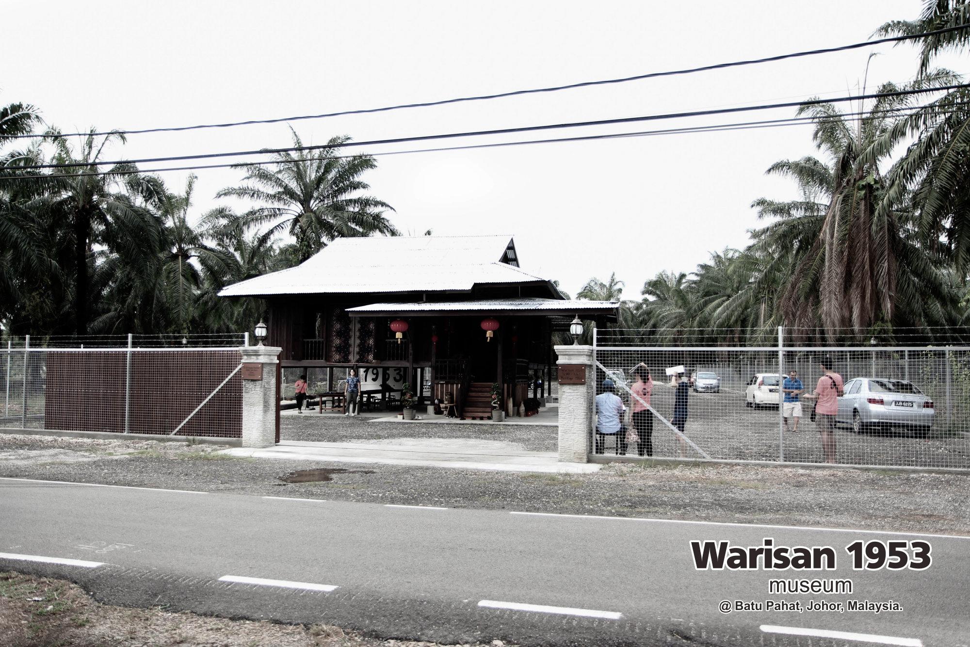 Tony Martin Kher founder of Warisan 1953 Museum at Batu Pahat Johor Malaysia Heritage 1953 Artist Joey Kher A04