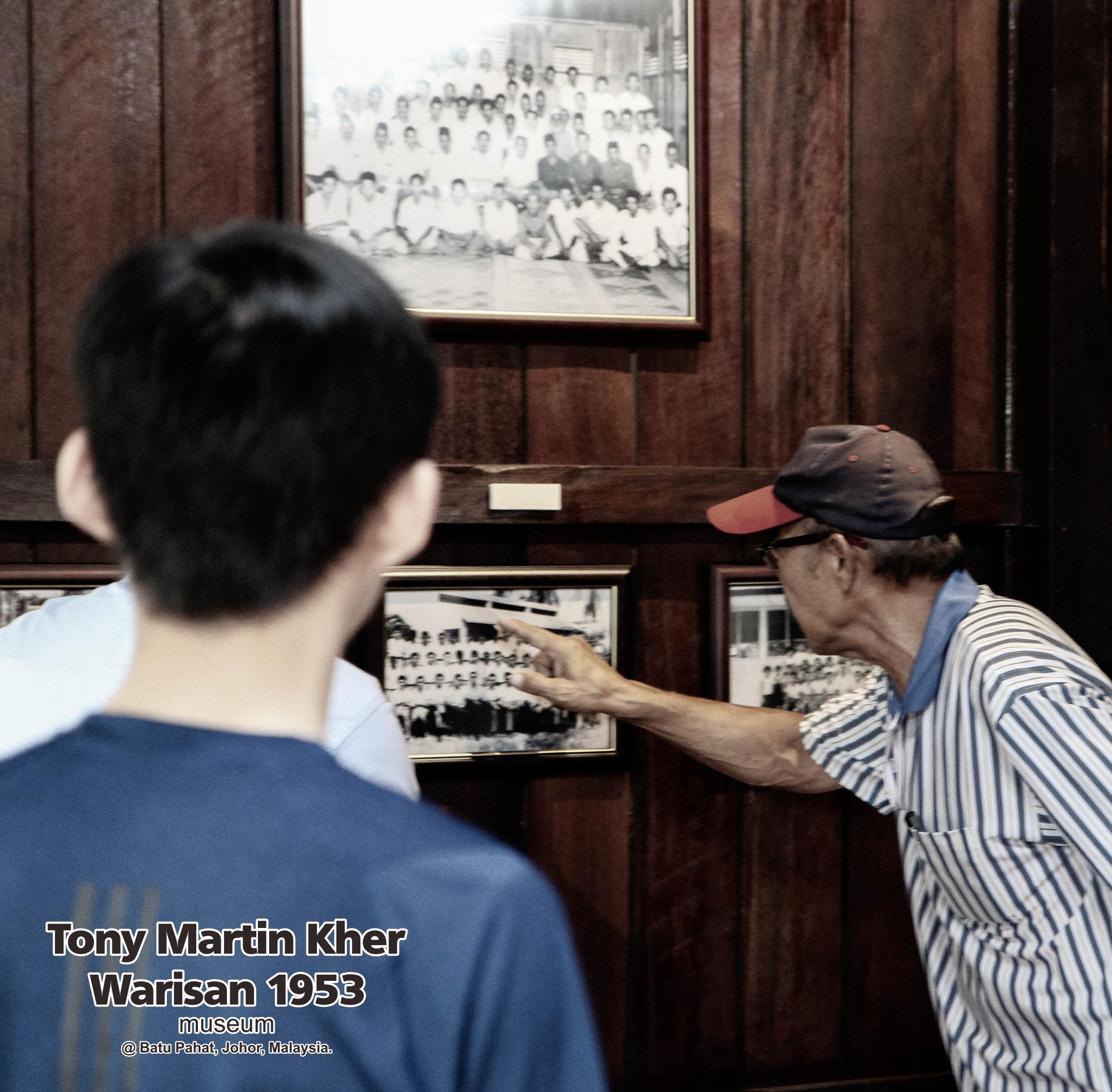 Tony Martin Kher founder of Warisan 1953 Museum at Batu Pahat Johor Malaysia Heritage 1953 Artist Joey Kher A09