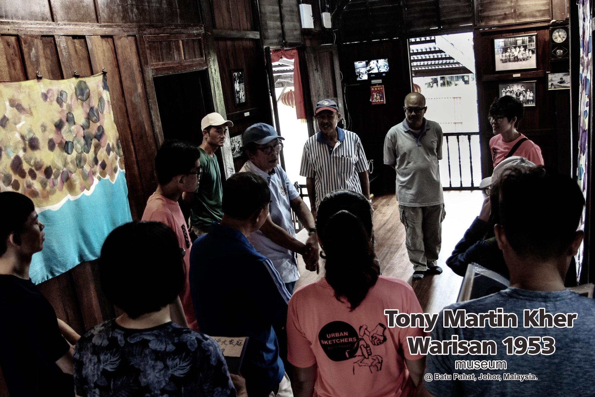 Tony Martin Kher founder of Warisan 1953 Museum at Batu Pahat Johor Malaysia Heritage 1953 Artist Joey Kher A18