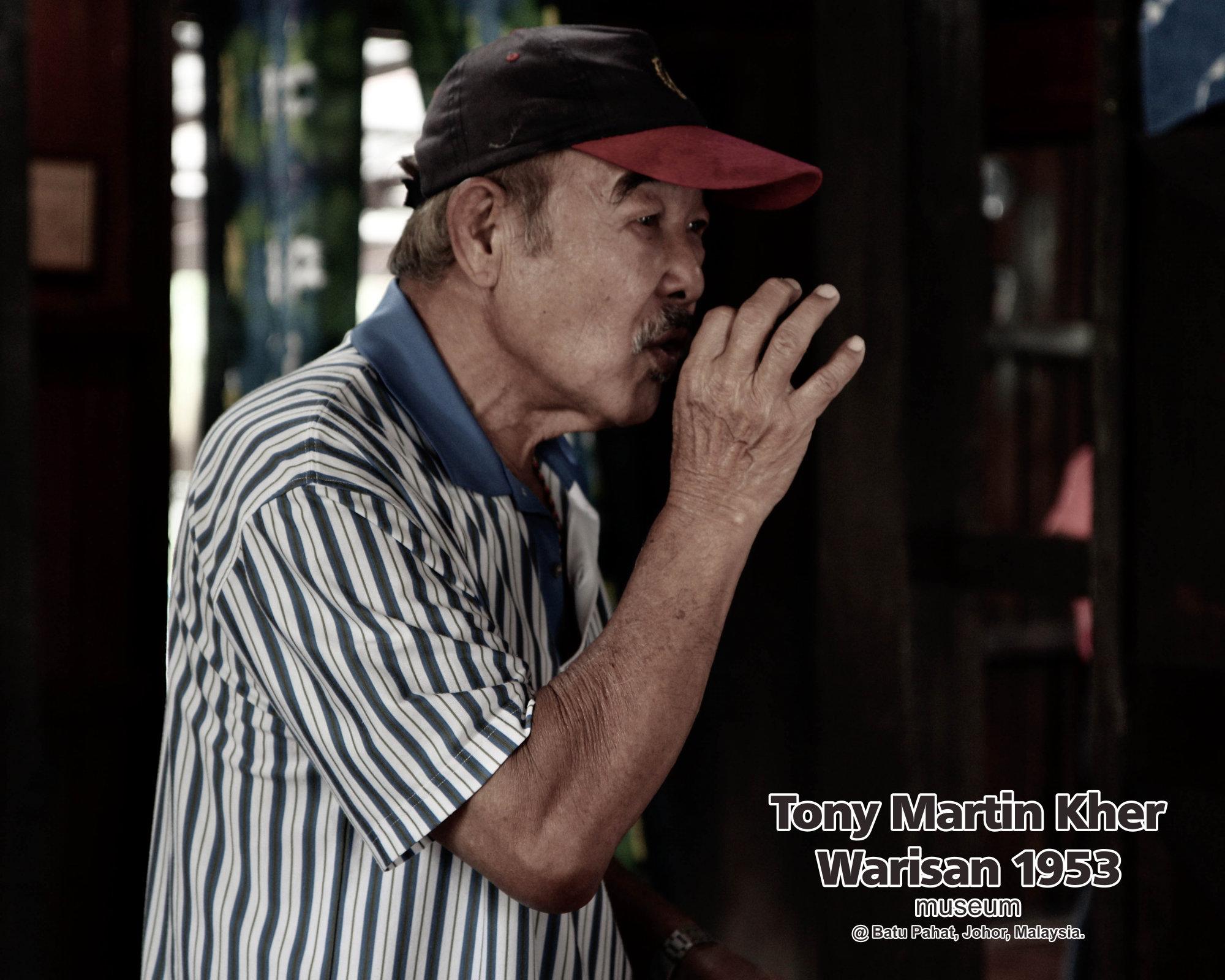 Tony Martin Kher founder of Warisan 1953 Museum at Batu Pahat Johor Malaysia Heritage 1953 Artist Joey Kher A29